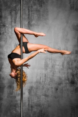 Profi Tanzstange 45mm GoGo Pole Dance Tabledance Strip Stange Static + Spinning - 1